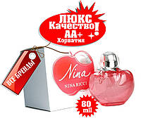 Nina Ricci Nina red apple  Хорватия Люкс качество АА++ парфюм Нина Красное Яблоко