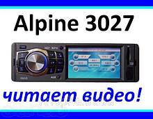 """Автомагнитола Alpine 3027 (LCD 3,6""""★USB★SD★FM★AUX★ГАРАНТИЯ★ПУЛЬТ"""