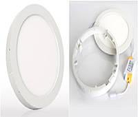 Светодиодный светильник  18 W LED круглый накладной 4000 К
