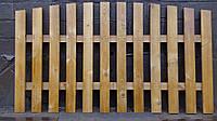 Секция забор декоративный штакетник №11 Сухая строганная доска, 1