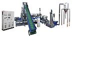 Двухкаскадная линия грануляции РР, LDPE и стрейч-пленки стренгового типа (200 кг/час)