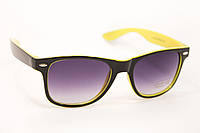 Очки Wayfarer желтые