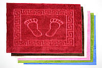 Коврик - полотенце велюровый 50х75 см