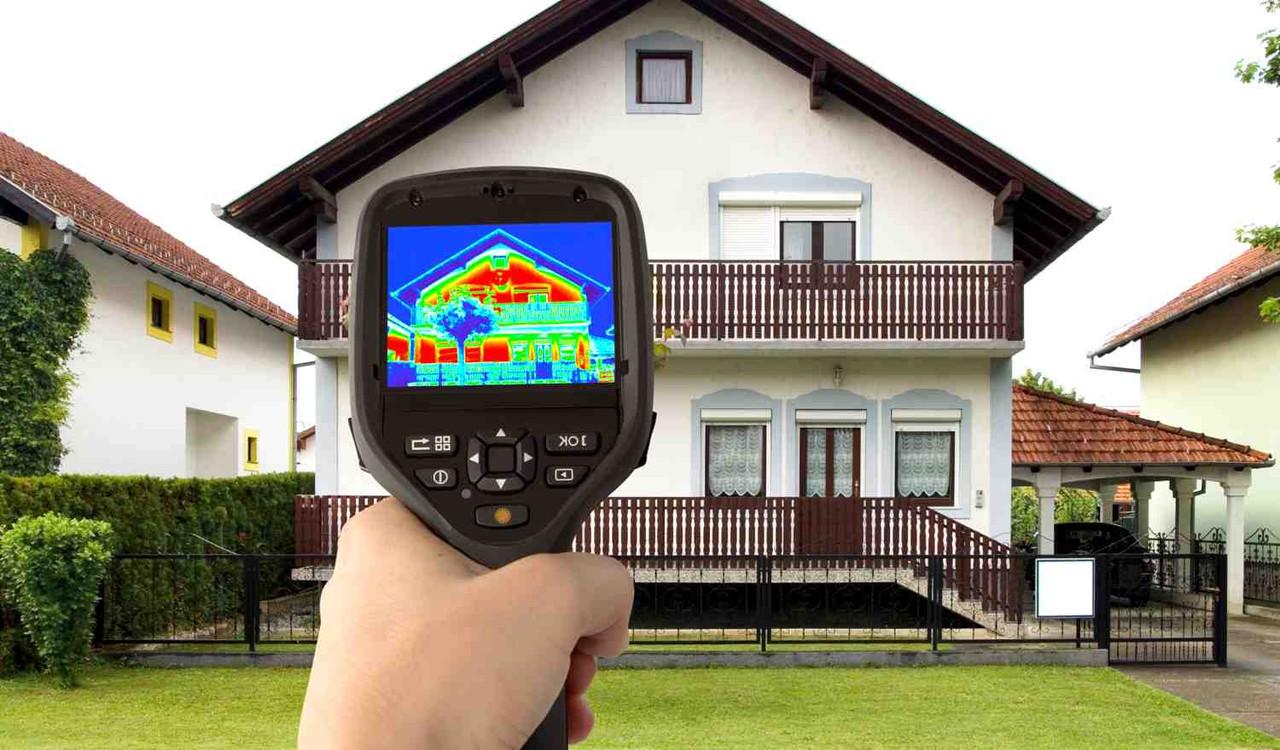 Тепловизионное обследование для уменьшения теплопотерь