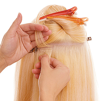 Ленточное наращивание волос, фото 1