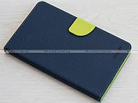Чехол Mercury Fancy Diary для Samsung Galaxy Tab 3 Lite 7.0 SM-T110, T111, T113, T116 Blue/Green