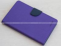 Чехол Mercury Fancy Diary для Samsung Galaxy Tab 3 Lite 7.0 SM-T110, T111, T113, T116 Purple