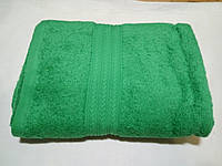 Полотенце махровое 50х90-100 цвет зелёный, Туркменистан