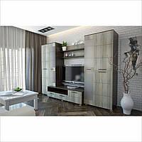 Шкаф стенка в гостиную «Рим»
