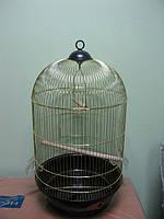 """Золотая клетка 330Gold (DIVA) Ф40х70 см """"золото"""" клетка для птиц"""