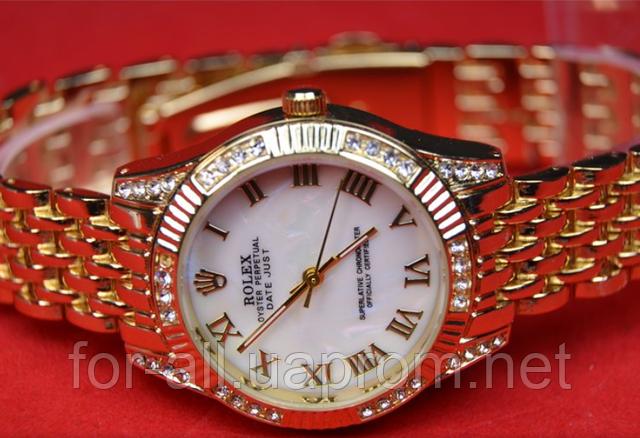 Часы женские наручные Rolex Oyster Perpetual Datejust Gold в интернет-магазине Модная покупка