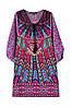 Объемное платье туника в этно стиле