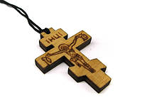 Крестик для крещения деревянный