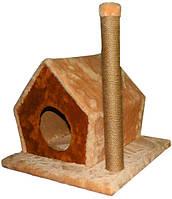Когтеточка,дряпка Лори  Тифани-джут дом -драпак для кота