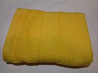Полотенце махровое 50х90-100 цвет ярко-желтый, Туркменистан