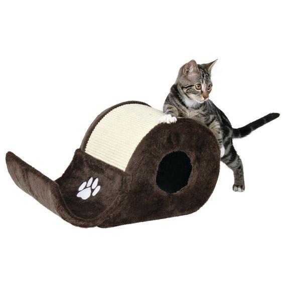Когтеточка,дряпка Trixie TX-4312 драпак волна Эльда для котят 48х27х24см