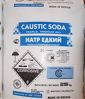 Сода каустическая, натриевая щелочь, едкий натрий, каустик оптом, NaOH, (Россия) гранула