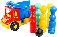 Multi truck грузовик с кеглями Wader Тигрес