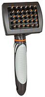 Trixie TX-24144  Щетка расческа массажная для всех видов шерсти