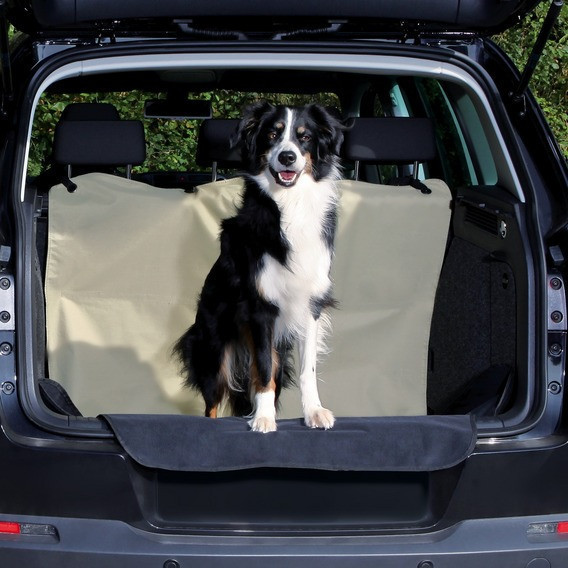 Trixie  TX-13238 покрывало для багажника авто (полиэстер) 1.80х1.30м,беж Трикси.