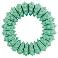 Trixie TX-33181  Denta Fun Mintfresh  кольцо, натуральный каучук (мята)12cм-игрушка для собак