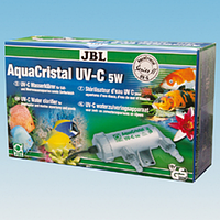 JBL AquaCristal UV-C 5Watt  (ультрафиолетовый стерилизатор 5w/21cm) 60350