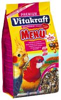 Vitakraft Menu Vital Complex - корм для средних попугаев, 3 кг (21427)