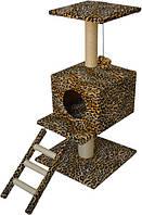 Когтеточка,дряпка Лори  Цезарь  дом-драпак для кота  82*44*44см (сезаль)