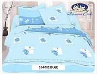 Комплект постельного белья из Бязи-люкс Евро - размер
