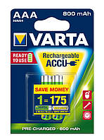 Аккумулятор AAA Varta RECHARGEABLE ACCU 800 mah 2 шт