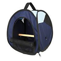 Trixie  TX-5906 сумка-переноска для птиц (нейлон) 27х32х27см,синий/голубой