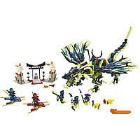 Конструктор Ниндзя/Ninja SY389 Атака дракона 10400, фото 1