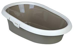 Trixie TX-40331 туалет Paulo для кота с рамкой (39*17*58см)