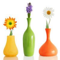 • Вази для квітів
