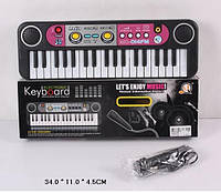 Орган MQ014FM батар, радио, 37 клавиш,с микрофоном,в кор. 34*11*4,5см