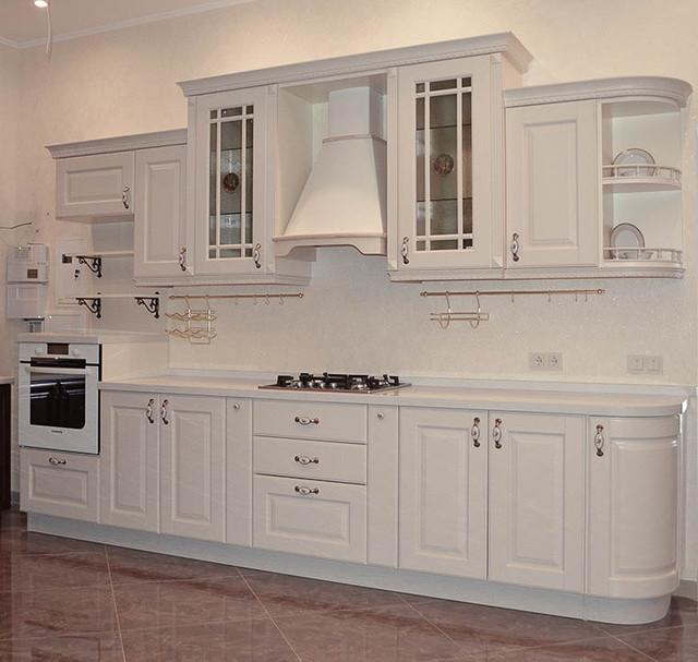 мебельный фасад МДФ Бьянка для кухни