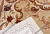 """Ковер из вискозы Даймонд """"Цветочная абстракция"""", коричневые тона, фото 4"""