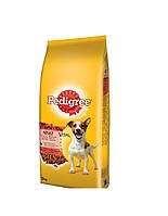 Корм для собак Pedigree Mini с говядиной и овощами 12 кг, фото 1