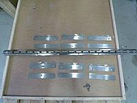 Крепление для Штор ПВХ нержавейка EU - 200 c пазами (1 м карниз ,6 планок 200 мм ,винты)Крепление для Штор ПВХ