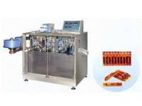 Автоматическая машина для формирования,наполнения и запайки в пластиковые ампулы., фото 1
