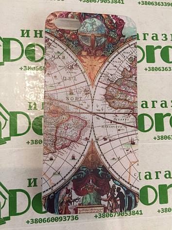 Силиконовый чехол с рисунком на IPhone 5 \ 5s, фото 2