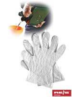 Перчатки рабочие с пленки и tyvek