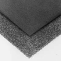 Паралон 8305 прозоро акустичний PPI35 товщина 5мм застосовується в акустичних системах розмір листа 125*200
