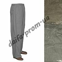Мужские летние льняные брюки БАТАЛ AB1-2. Оптовая продажа со склада на 7км.