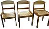 Детский стул деревянный регулируемый