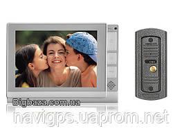 "Домофон DP-806 белый 8"" Sony с записью на SD карточу"
