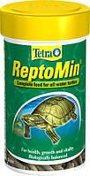 Корм для водных черепах Tetra REPTOMIN,  250 мл