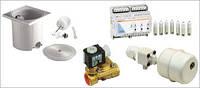 Механический контроль уровня води, глубина 240 мм, бронза, для скимеров 1252020 и 1262020