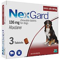 Таблетка от блох и клещей НЕКСГАРД для собак 25-50 кг, (XL)
