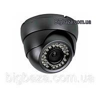 420TVL. ИК купольная видеокамера  цветная LUX42HF